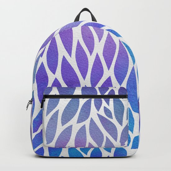 Petals Pattern #1 Backpack
