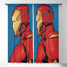 The man of Iron Blackout Curtain