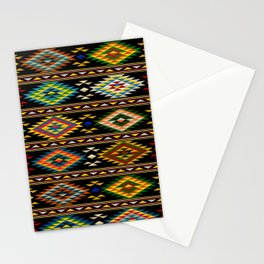 American Indian seamless pattern Stationery Cards