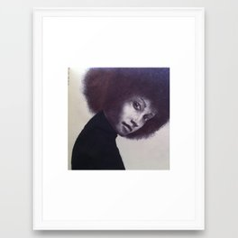 afro 1 Framed Art Print