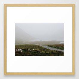 The Long Road Home Framed Art Print