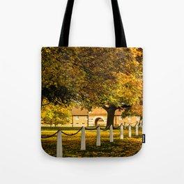 Autumn at Wiseton Stables Tote Bag