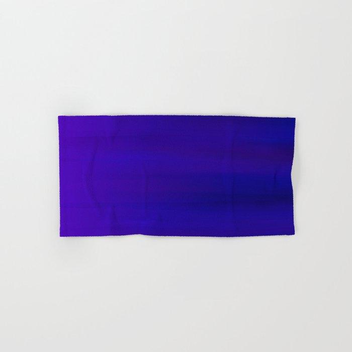 Ultra Violet to Indigo Blue Ombre Hand & Bath Towel