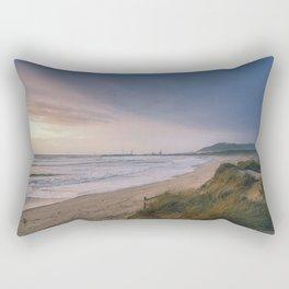 Rodanho beach, Viana do Castelo, Portugal. (II) Rectangular Pillow