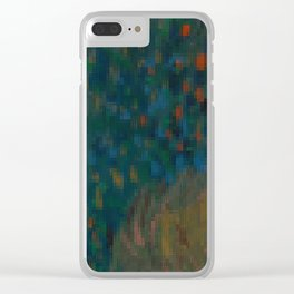 The Vincent Collection -01 Clear iPhone Case