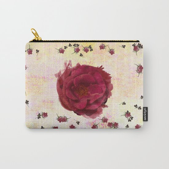 Sweet Aroma Rose Carry-All Pouch
