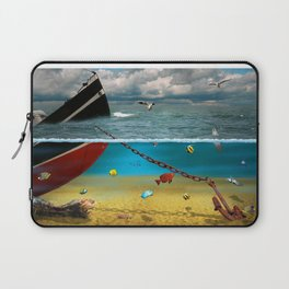 View into the underwater world Laptop Sleeve