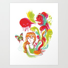 Pop Goes Disaster Art Print