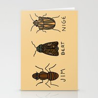 bugs Stationery Cards featuring bugs. by MorningMajor