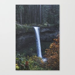 Evening Silver Canvas Print