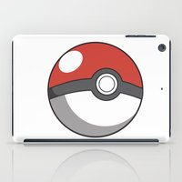 pokeball iPad Cases featuring Pokeball ! by swiftstore