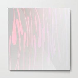Simple, design wood lines Exotico Metal Print