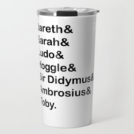 Labyrinth Names Travel Mug