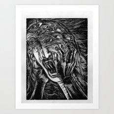 Aghhhh! Art Print