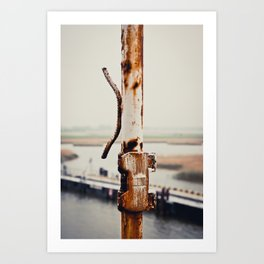 Baltic Rust Art Print