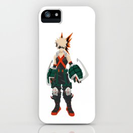 Boku no Hero - Bakugou iPhone Case