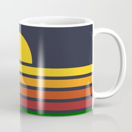 Geometric Rainbow Nature Coffee Mug