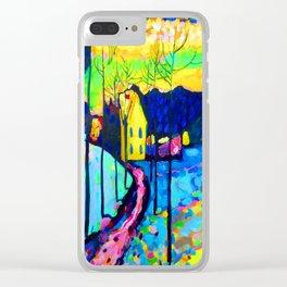 Wassily Kandinsky Winter Landscape Clear iPhone Case