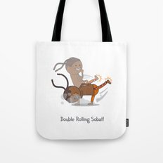 Double Rolling Sobat! Tote Bag