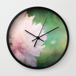 Peony Dreams... Wall Clock