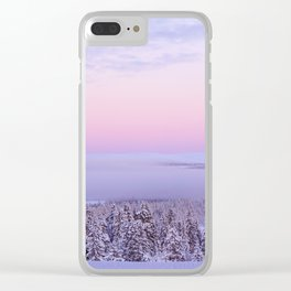 Winter by Janina Kasiliauskaite Clear iPhone Case