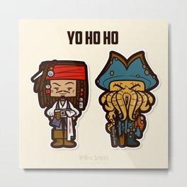 Yo Ho Ho Metal Print