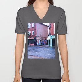 Fresh Urban Rain Unisex V-Neck