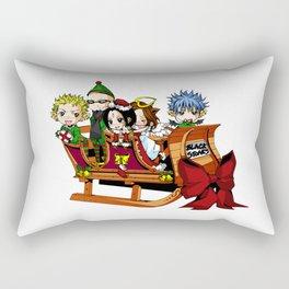 Nana - Black Stones Christmas Rectangular Pillow