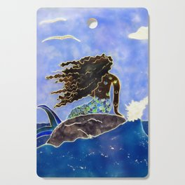 Lady of the Atlantic Crossing Cutting Board