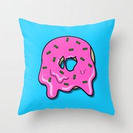 Donut time Throw Pillow