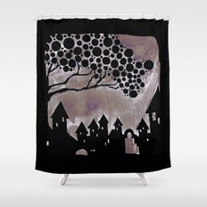 noturne city Shower Curtain