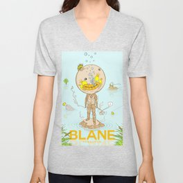 Blane Throttle Unisex V-Neck