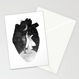 A dancing over our heart. Stationery Cards