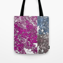 3 grunge paint stains texture Tote Bag