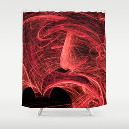 energetic dream Shower Curtain