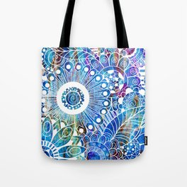 Submerge Doodle Tote Bag