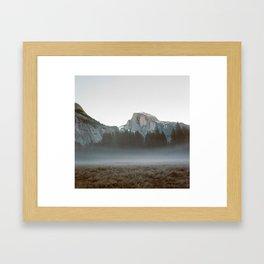 Morning Mist, Yosemite Framed Art Print