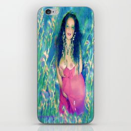 Nude field of dreams goddess ladykashmir iPhone Skin