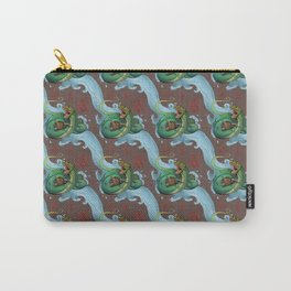 Jormungand Pattern Carry-All Pouch
