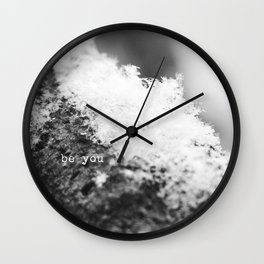 Just Be You Wall Clock