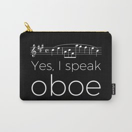Yes, I speak oboe (2) (black) Carry-All Pouch