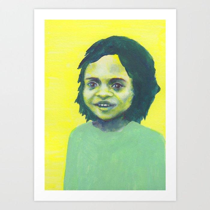 Les petites filles I.40 Art Print
