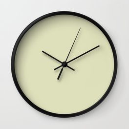 Pistachios dee0bb Wall Clock