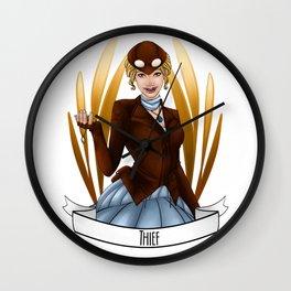 Steampunk Occupation Series: Thief Wall Clock