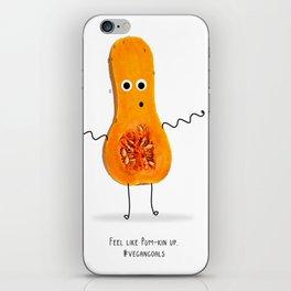 Feeling like Pump-kin up. iPhone Skin