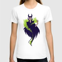 maleficent T-shirts featuring Maleficent by Pulvis