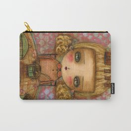 "Goldilocks thinks ""It's for me!"" Carry-All Pouch"