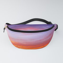 The arrival of night Fanny Pack