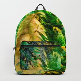 Stand Tall, Green Pineapple Backpack