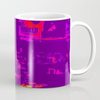 wicked Mugs featuring Wicked by Jaana